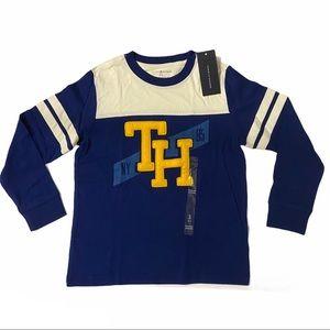 TOMMY HILFIGER Boy's Long Sleeve Shirt Size S 6-7Y